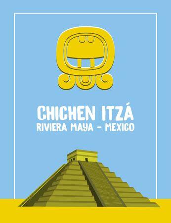 Chichen Itza Background