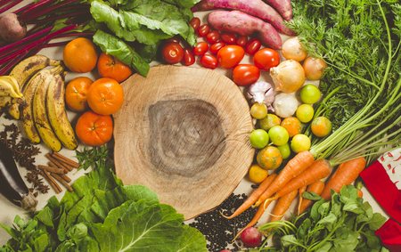 Vegetables, fruits and vegetables for health food production