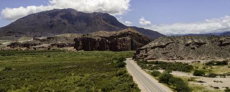 Route 68. Cafayate heading for Salta. Argentina. Imagens