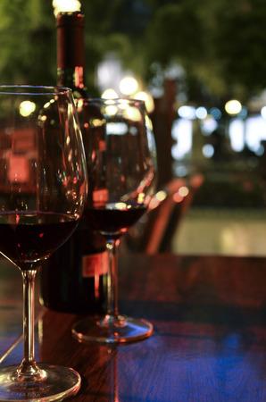 ワイングラス 写真素材