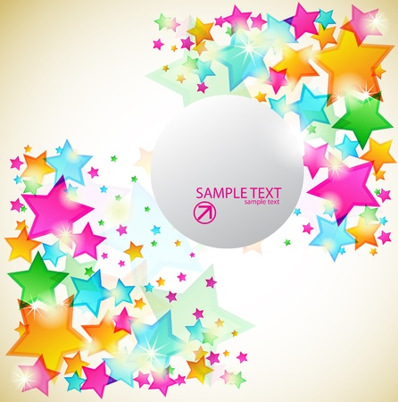 EPS10 star background  Vector
