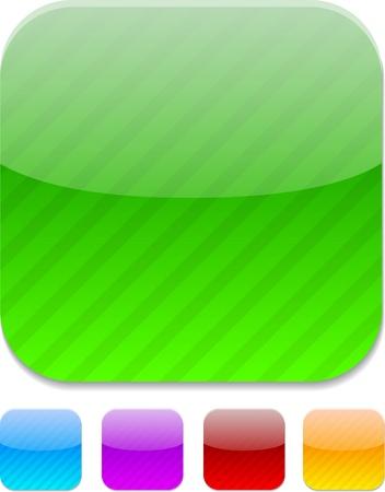 Set Farbe modernen Ikonen. Vektor-Illustration. Standard-Bild - 10039025