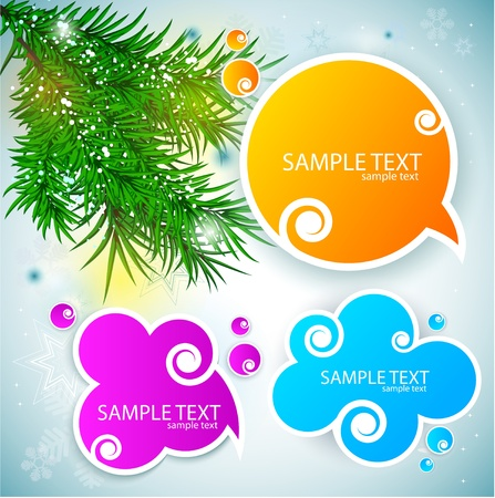 Paper speech bubble Stock Vector - 10505840