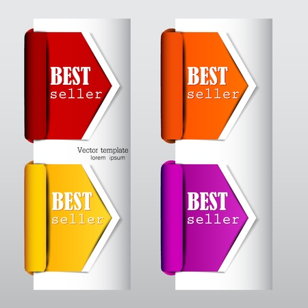 special price: Colorful arrows and bookmarks  bestseller