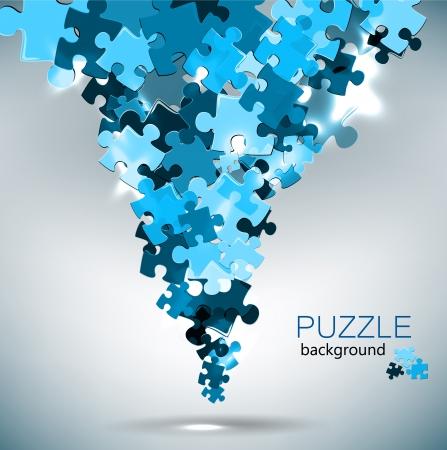piezas de puzzle: Resumen de antecedentes de hecho de las piezas del rompecabezas