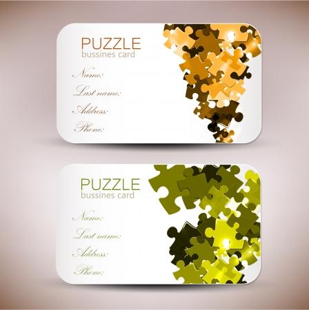 network card: Modern Business-Card Set