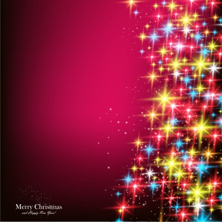 place for text: Elegant Christmas background with snowflakes and place for text