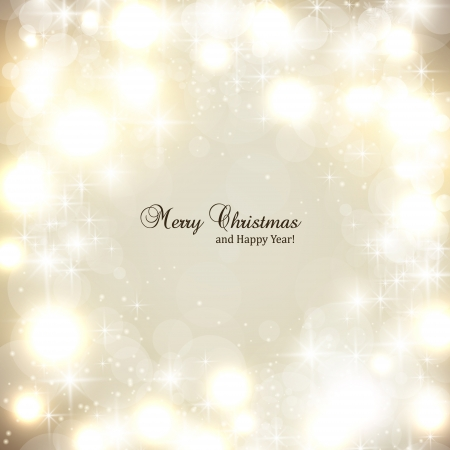 Elegant Christmas background with snowflakes and place for text Stock Vector - 15736587