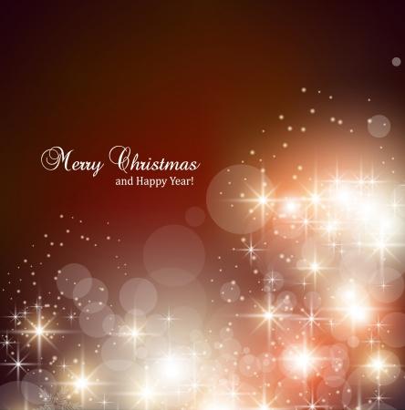 boldog karácsonyt: Elegáns karácsonyi háttér hópelyhek, és helyet a szöveges Illusztráció