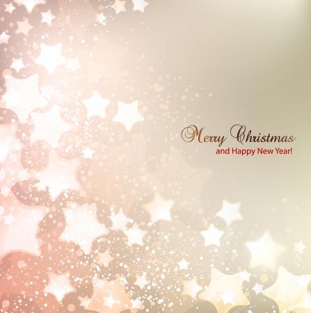 place for text: Elegante fondo de Navidad con las estrellas y el lugar de texto