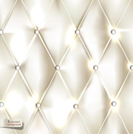 rippled: Elegante rivestimento bianco. Vector sfondo