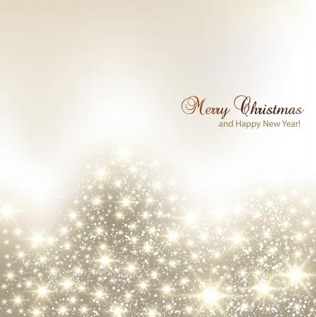 boldog karácsonyt: Elegáns karácsonyi háttér hópelyhek, és helyet a szöveges, vektor, Ábra