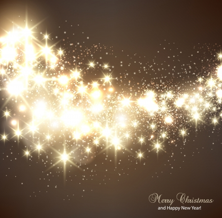 Elegant Christmas background with snowflakes and place for text. Stock fotó - 16028947