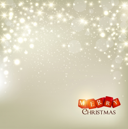 Elegant Christmas background with snowflakes and place for text. Stock Vector - 16028909