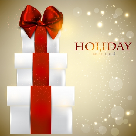 Elegant background with Christmas gifts Stock fotó - 16241817