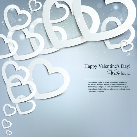 Gift card  Valentine Stock Vector - 16874205