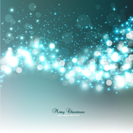 Elegant Christmas background with snowflakes and place for text. Illustration.