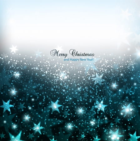 Elegant Christmas background with snowflakes and place for text. Illustration. Stock fotó - 16874225