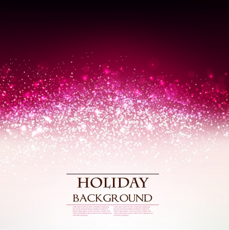 Holiday background rouge élégant avec place pour le texte. Illustration.