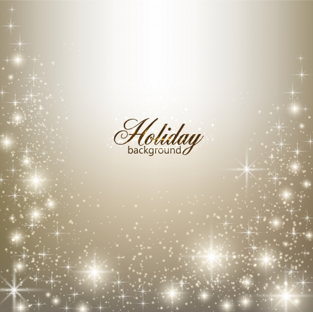 Elegant Christmas background with snowflakes and place for text. Vektorové ilustrace