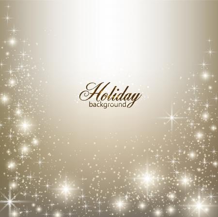 happy holidays: Elegant Kerst achtergrond met sneeuwvlokken en plaats voor tekst.