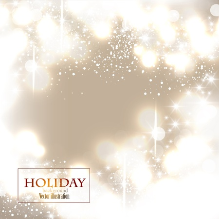 Elegant Christmas background with snowflakes and place for text. Vector Illustration. Stock Vector - 20822725