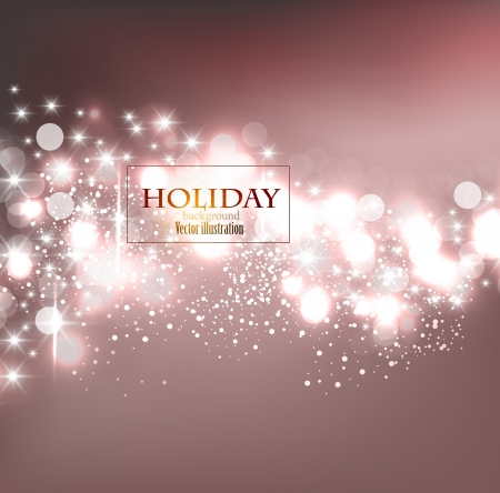 Elegant Christmas background with snowflakes and place for text. Vector Illustration. Stock Vector - 20822736