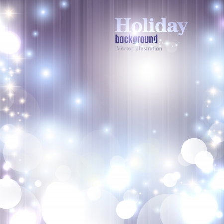 Elegant Christmas shining background with snowflakes and place for text. Vector Illustration. Stock Vector - 20988442