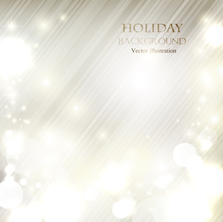 Elegant Christmas shining background with snowflakes and place for text. Vector Illustration. Stock fotó - 20988443