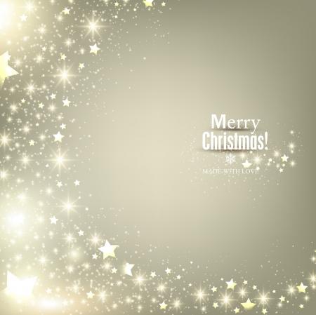 Elegante Weihnachten Hintergrund mit Schneeflocken und Platz f?r Text. Vector Illustration.