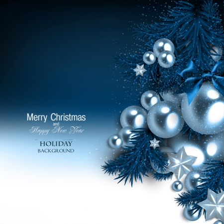christmas garland: Elegant  background with Christmas garland. Vector illustration Illustration