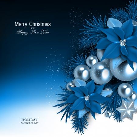 Elegante achtergrond met slinger van Kerstmis. Vector illustratie Stockfoto - 23650730