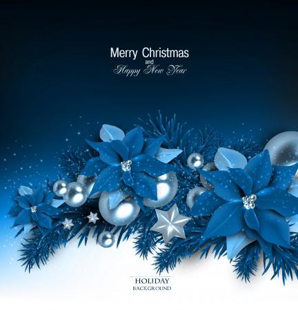 Fond élégant avec guirlande de Noël. Vector illustration Banque d'images - 23650732