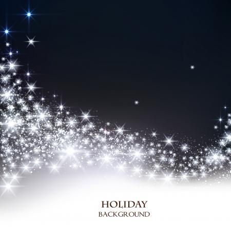 エレガントなクリスマス背景テキストのための場所。ベクトル イラスト