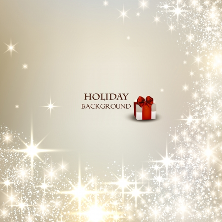 elegant christmas: Elegant Christmas background with place for text. Vector Illustration.