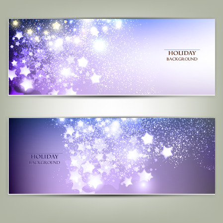 christmas parties: Elegant Christmas background with stars. Vector illustration Illustration
