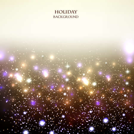 Elegante fondo de Navidad con las estrellas. Ilustración vectorial