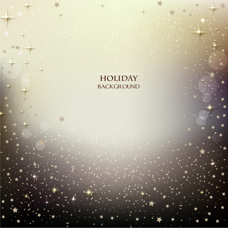new year greetings: Elegant Christmas background with stars. Vector illustration Illustration