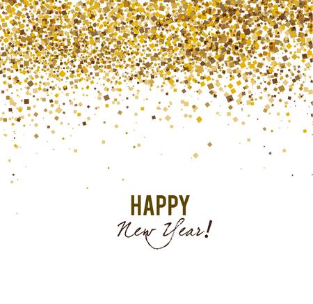 행복 한 새 해 배너입니다.