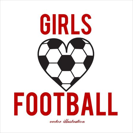 Football abstract background. Heart design like print for ball. Design template for Football championship. Vector illustration. Stock fotó - 114082227