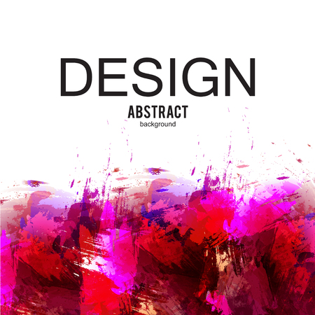 Abstract vector background. Colorful  watercolor stain image for screen, background. Design  for electronic device Stock fotó - 114082230