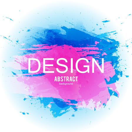 Abstract vector background. Colorful  watercolor stain image for screen, background. Design  for electronic device Stock fotó - 114082240