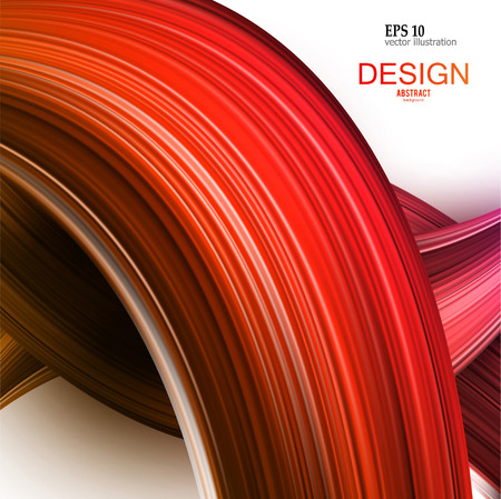 Abstract vector background. Colorful  curve image for screen, background. Design  for electronic device Stock fotó - 114082349