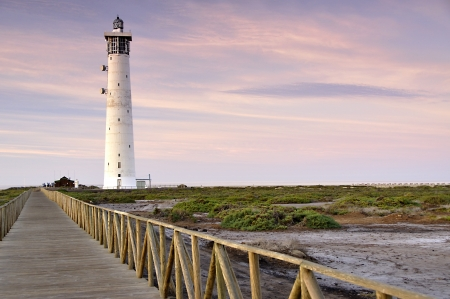 Lighrhouse in Jandia, Fuerteventura photo