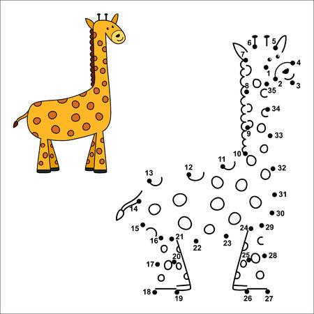 Verbinden Sie Die Punkte, Um Die Niedlichen Löwen Zu Zeichnen Und ...