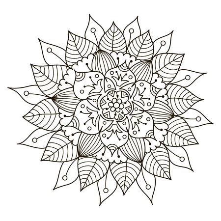 Berühmt Blumen Kaleidoskop Malvorlagen Ideen - Ideen färben ...