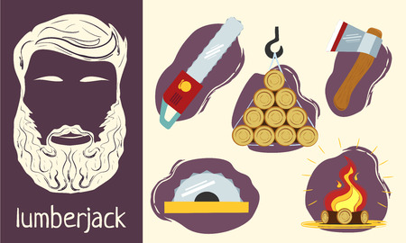 lumberjack: Characteristics of the lumberjack. Set of elements