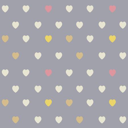 heart seamless pattern: Cute heart seamless pattern