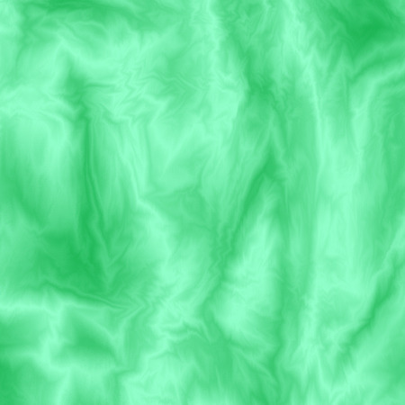 wavy fabric: Abstract green silky background. Color fabric overflow. Cloth wavy colorful texture. Flowing streamy silk effect. Vector illustration Illustration