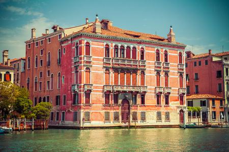 venice: Venice grand channel Stock Photo